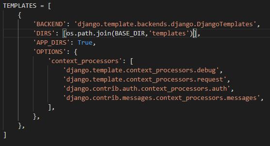 django-templates