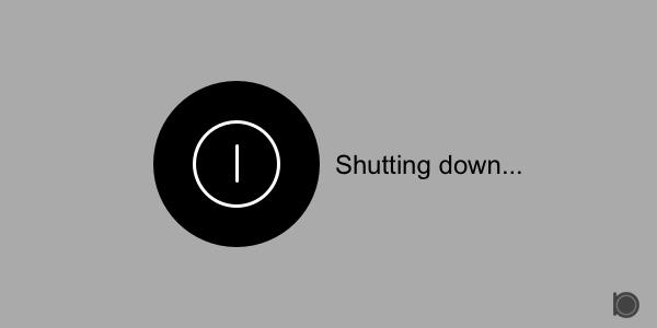 Shutdown windows pc using command prompt or using RUN